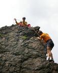 Alter Weg II am Nordwestlichen Geierfelsen - Torsten Riemers erste Kletterei