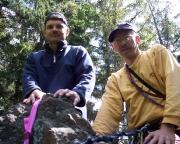 Klettern im Lauschagrund - Gipfel der Lauschagrundnadel