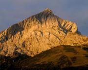 Alpspitze in der Morgendämmerung - Foto: Matthias Bölke