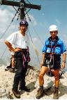 Watzmann-Überschreitung - auf dem Gipfel der Südspitze aber noch nicht das Finale
