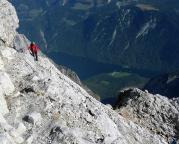 Watzmann-Überschreitung - der Abstieg ist absolut nicht zu unterschätzen!