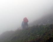 Pech bei unserer Tour 2009: am Anreisetag war schlechtes Wetter
