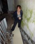 Auch im Keller ist einiges zu tun, die Treppe fehlt zum Beispiel