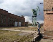 Auf dem Gelände des ehemaligen VEB Kranbau Eberswalde, fast ein Lost-Place, aber teilweise noch in Betrieb