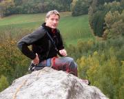 Wiese auf dem Gipfel der Klamotte am Pfaffenstein