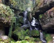 Lichtenhainer Wasserfall – bei diesem Wetter läuft er ununterbrochen