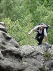Klettersteig Alpiner Grat - die letzten Meter zum Ausstieg